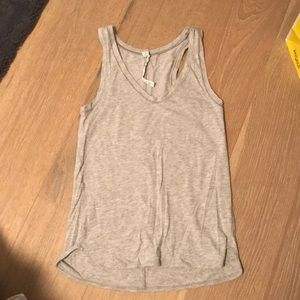 Grey Lululemon tank